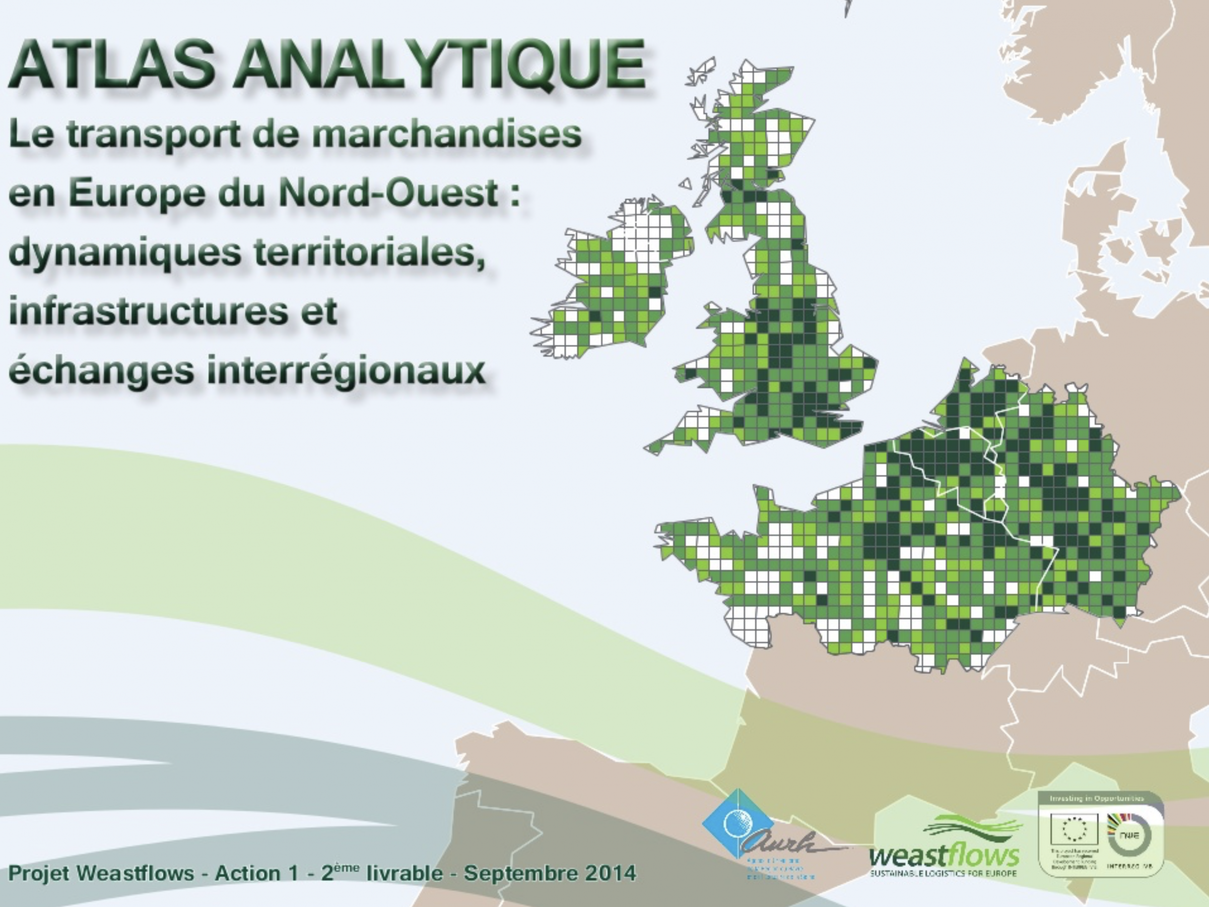 Atlas analytique du transport de marchandises en Europe du Nord-Ouest