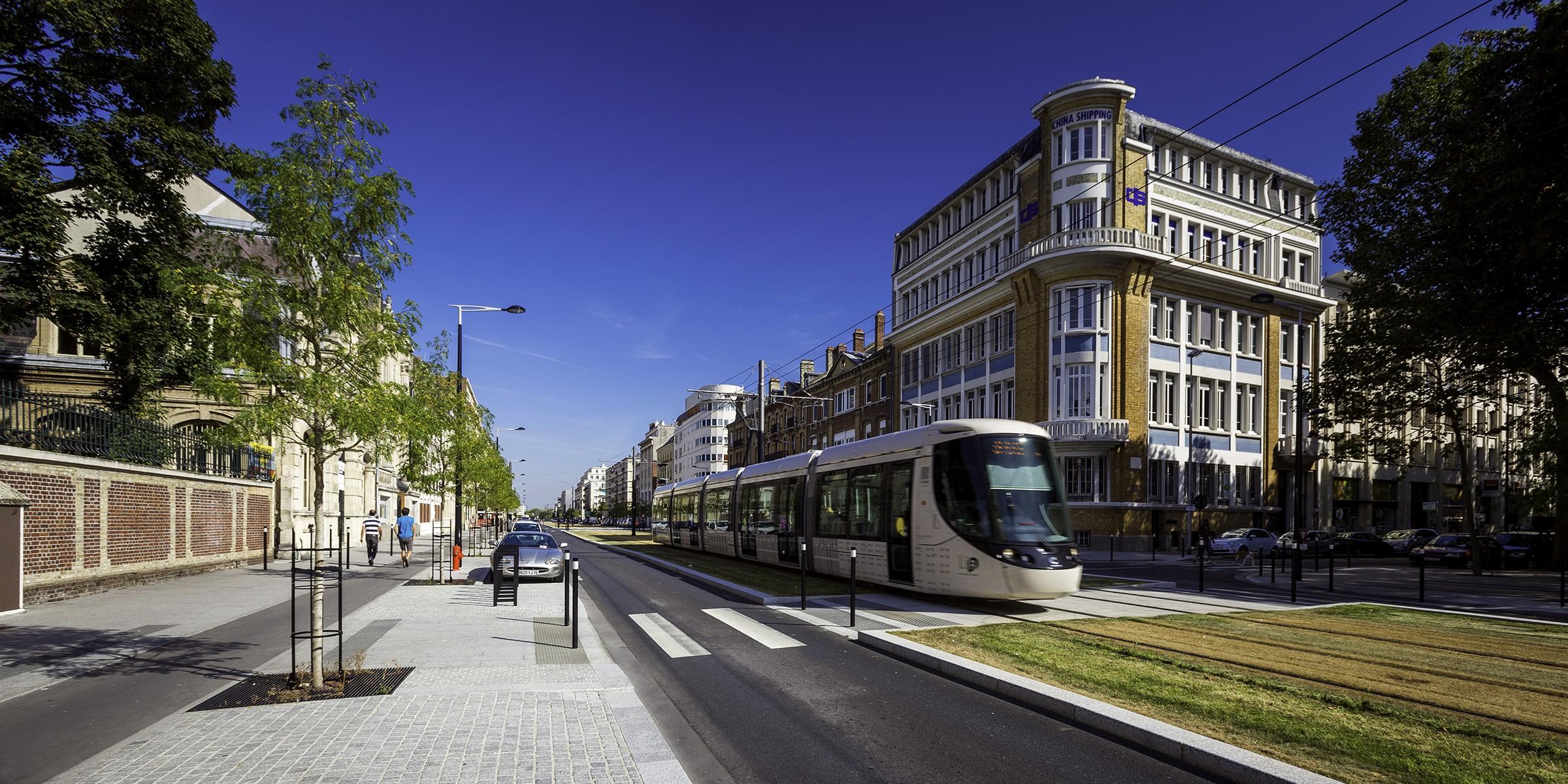 Une accessibilité limitée pour le parc de bureaux boulevard de Strasbourg au Havre