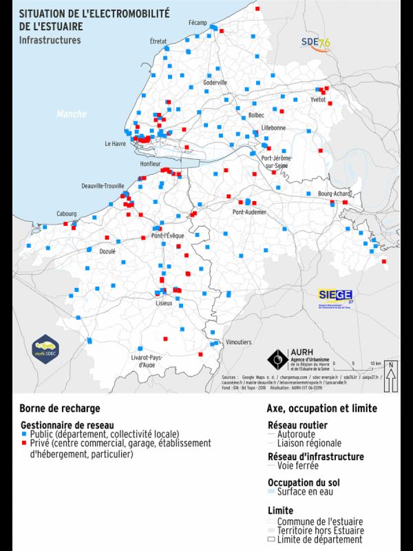 Carte électromobilité - Infrastructures