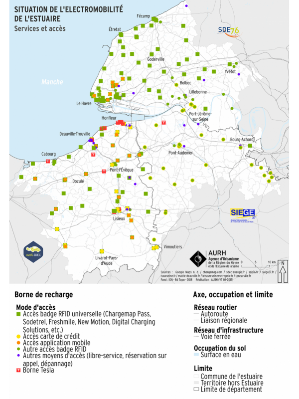 Carte électromobilité services
