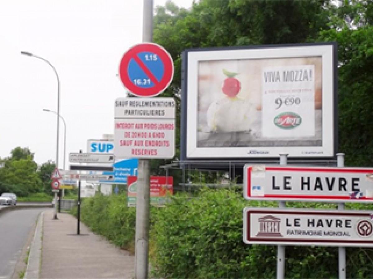 Réglement local de publication Le Havre