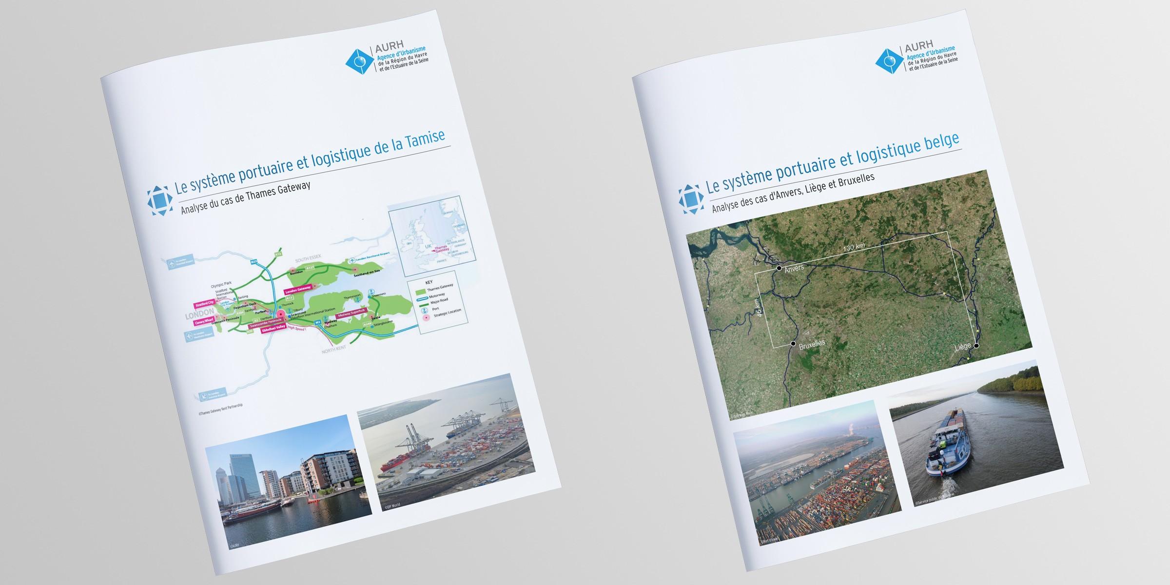 Les systèmes portuaires et logistiques belges et londoniens
