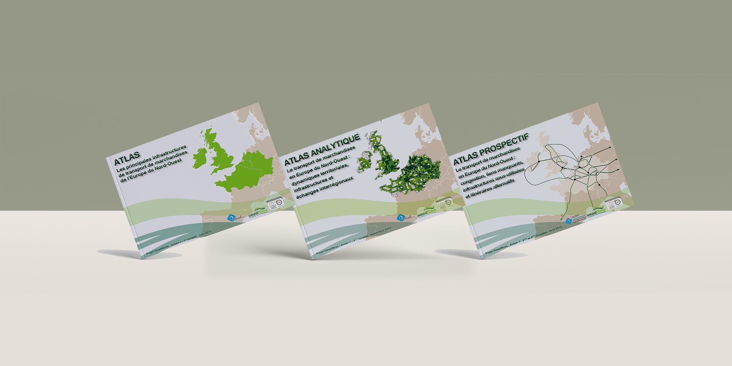Le transport de marchandises de l'Europe du Nord-Ouest (Weastflows)