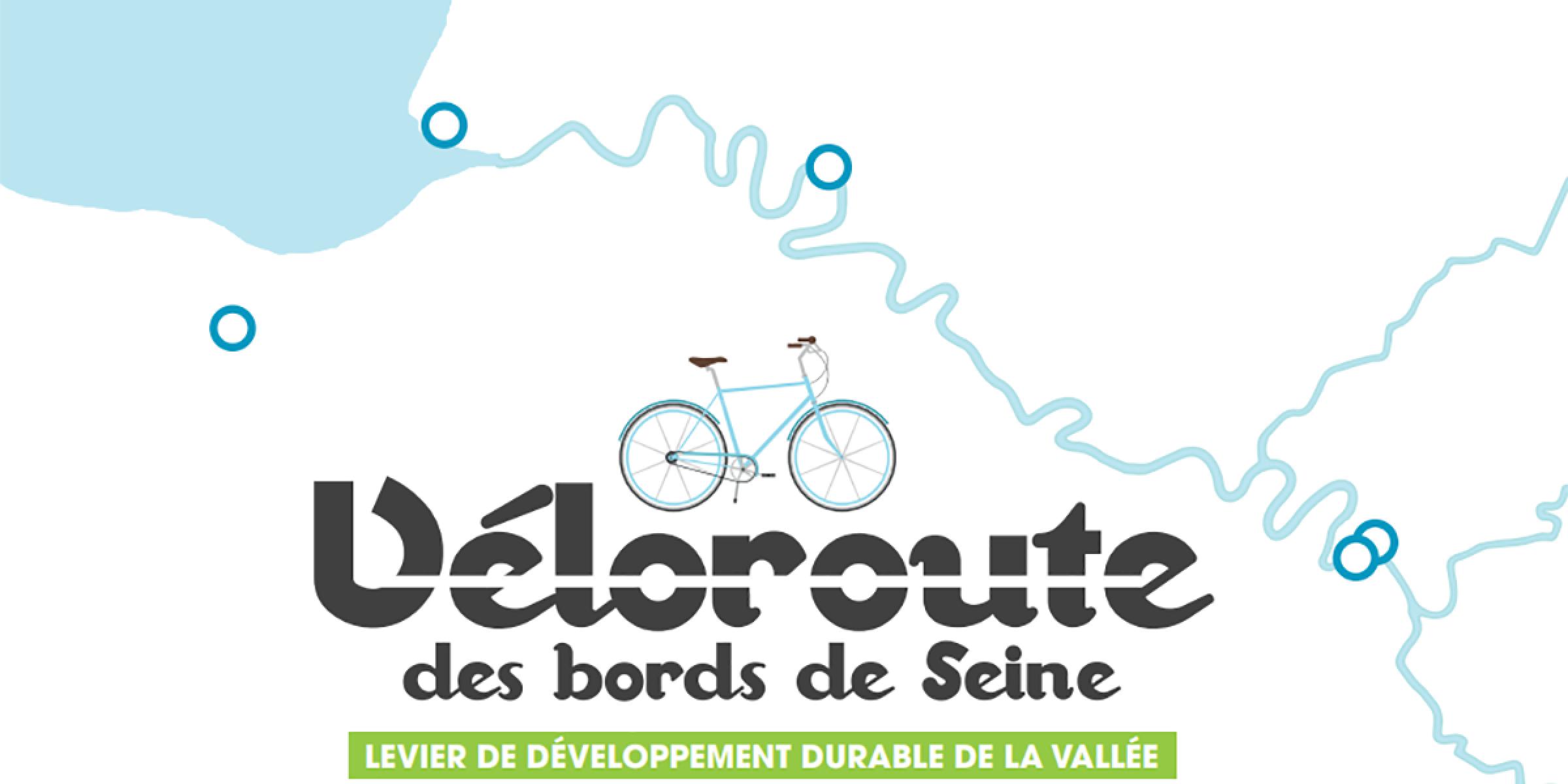 Véloroute des bords de Seine - Levier de développement durable de la vallée