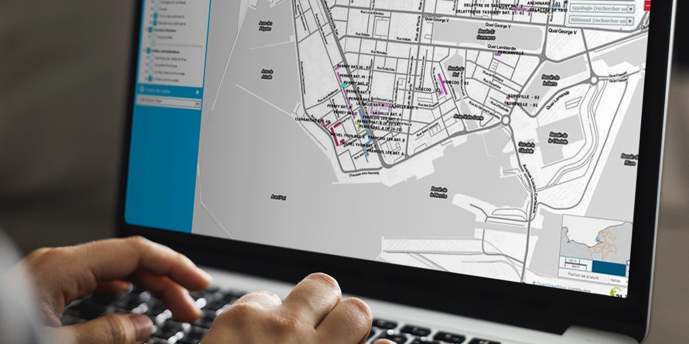 Une carte interactive pour le bailleur social Alceane