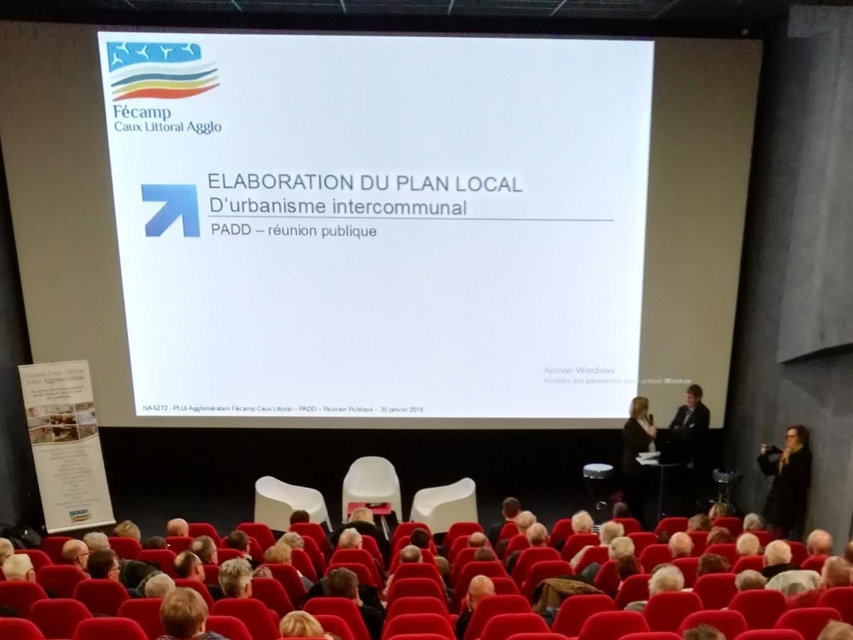 PLUi Fécamp - Réunion publique